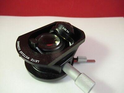 Leitz Wetzlar Allemagne Condenseur + Iris Microscope Pièce comme sur Photo # 3