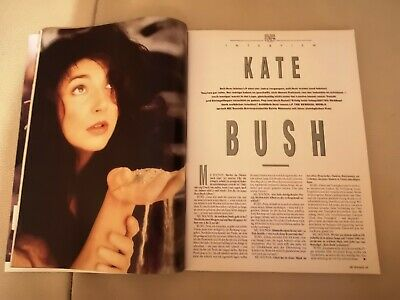 Musik Express Sounds Zeitschrift 1989 Nr. 12 (U2, Kate Bush, Sting) 2