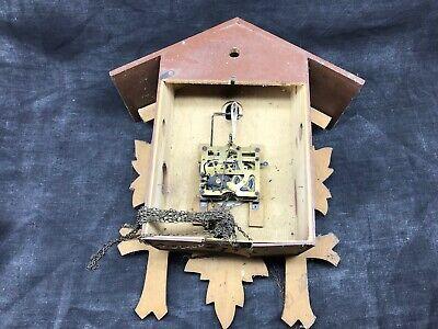Antique Cuckoo, Control West Germany Cash Wooden Clock Pendulum 3