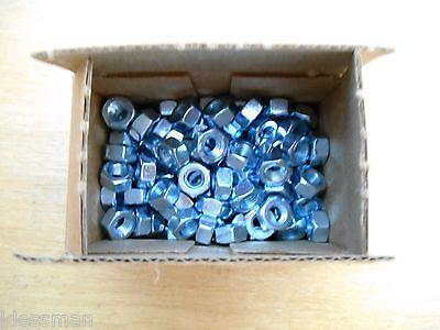 Box Of 100 15Nf5 Fine Thread ¼-28 Gr5 Finish Nut, New 2