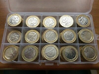 Two (£2) Pound Coin Royal Mint British Coin Hunt - Discount For Multiple Buys 2