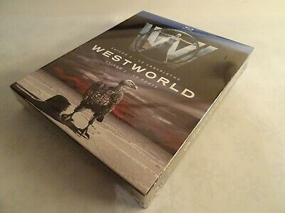 WESTWORLD Seasons 1 & 2 Bluray Complete Boxset FRENCH EDITION with English Audio 2