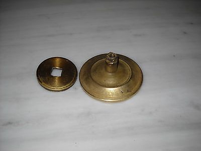Vintage Greece Solid Brass Large Door Knob Handle Push/Pull #7