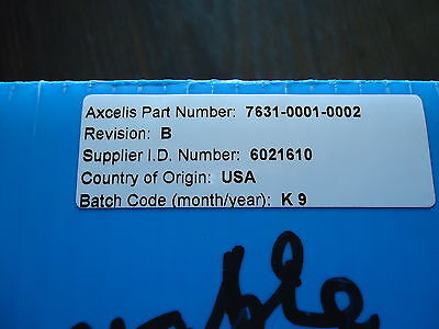 New Axcelis P/n 7631-0001-0002 Rev. B Made In Usa 2