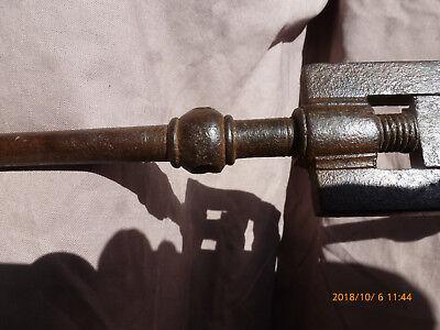 Porte outil où filière en fer-forgée ( fin XVIIIe début XIXe ) 4