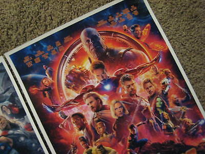 "Avengers -  (11"" x 17"") Movie Collector's Poster Prints (Set of 3) 10"