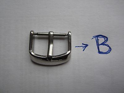 18mm-20mm-22mm Correa Reloj cuero BUND Pulsera Leather Watch Band Strap 6