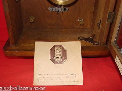Antique Chime Star 8 Rods 8 Hammers / Pendulum Clock Old Clock