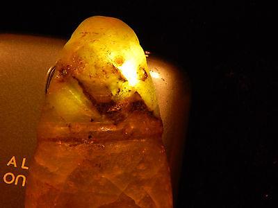 Pre-Columbian Avian Ceremonial Jade Pendant, Nicoya, Authentic, Translucent Jade 10