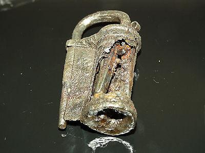 Superb Viking Iron  padlock. c 800-1000 AD 2