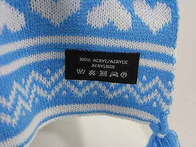Schal Scarf Damen Herren blau Norwegerschal Geschenk Accessoires NEU M30