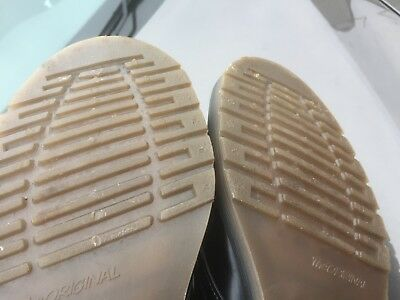 Dr Martens 1462 black leather shoes UK 10.5 EU 45.5 Made in England 10