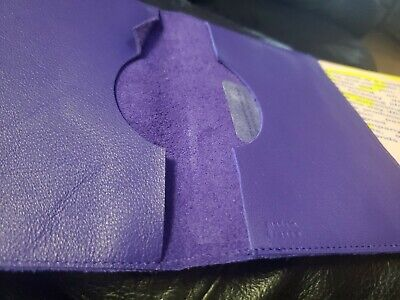 Arche68 Limited Edition Passport Cover Leather Purple New 2