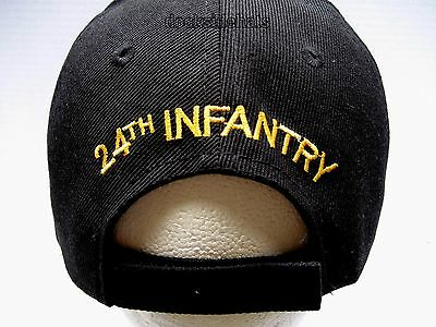 b31a23f9dfe ... 24TH INFANTRY DIVISION VETERAN Cap Hat Black New Military FREE SHIPPING  4