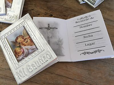 24 Pc Prayer Books For Baptism Favors Recuerdos De Bautizo En