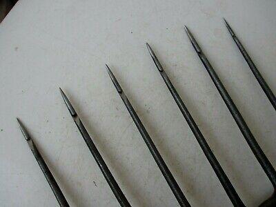 True Antique Handmade Carbon Steel Harpoon Spear Hunting Fishing Eel 5 Tines 6