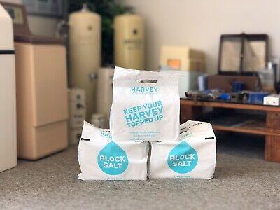 Harvey Kinetico Block Salt - 3 pack (6 blocks) 8KG each - Free Next Day Delivery 2