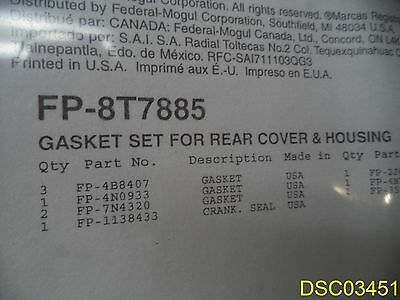 Other Heavy Equipment Parts & Accessories New Fp Diesel Single Cylinder Head Gasket Set Fp-6v7267 For Caterpillar D398 Street Price