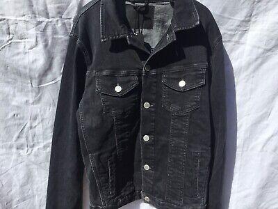 Veste jean noir Jack and Jones, taille S 2
