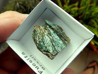 "Minerales "" Extraordinario Mineral De Fuchisita De Brasil  -  10B15 "". 2"
