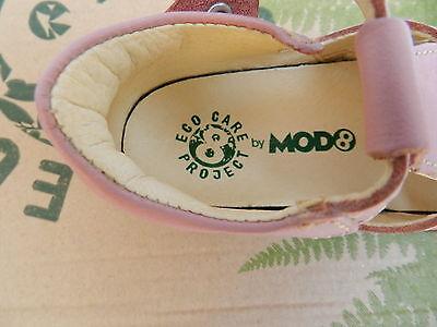 MOD8 Ekoko Sandales Chaussures Fille 20 Ballerines Rose Babies UK4 Child Neuf 5