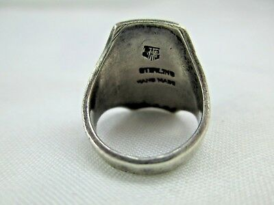 Antique Arts & Crafts Chicago Art Silver Shop Sterling Silver Ring 1912-34 219B 6