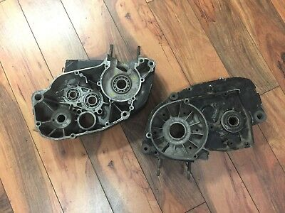 1975 Can Am Mx2 125 Engine Cases Oem