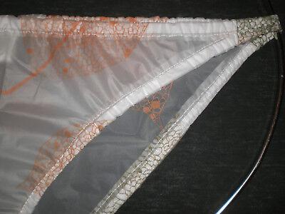 Adult Baby Plastik Pvc Transparent Rio Tanga Slip Pants  L-Xl