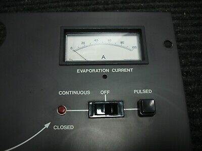 Polaron E6300 Sputter Coater Sputtering System Fisons Vacuum Control Panel 6