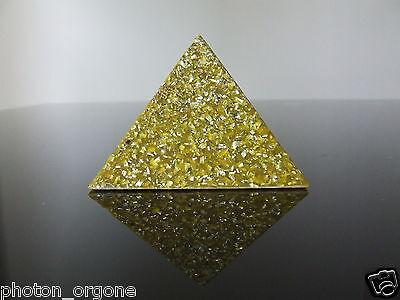 Orgone 3rd Solar Plexus Chakra Double Terminated Citrine Moonstone Pendant