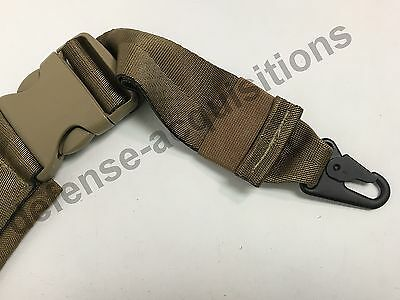 COY Buckle Military Tactical Padded Sling Shoulder Strap COY HK Clips USA MADE