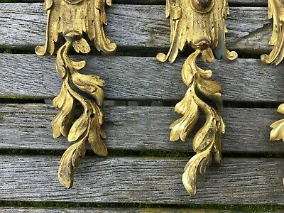 Louis XV Antique French Gilt Bronze Furniture Mounts - Selling Individually 3