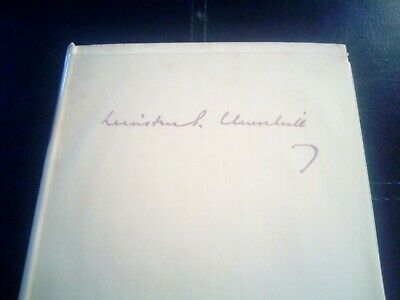 Their Finest Hour - Churchill, Winston. Hardback   The Reprint Societ good 4