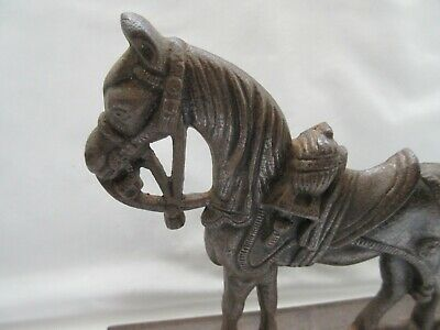 Vintage ? style reproduction ? cast iron horse doorstop 2