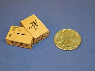 3 Easy fold 1//6 Scale Vietnam Era Combat Ration Boxes and Sleeves