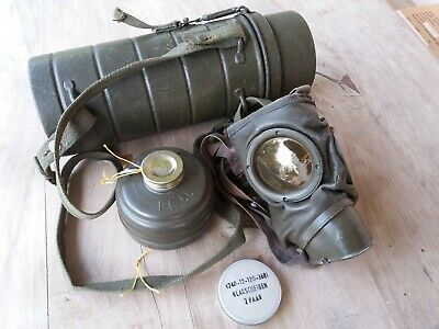 Original German Military Gas Mask post wwii, protective 2