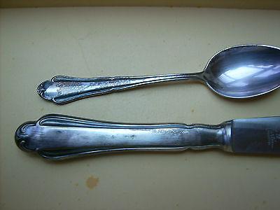 Martin Besteck Chippendale Löffel Suppenlöffel 90 Silber versilbert mehrere