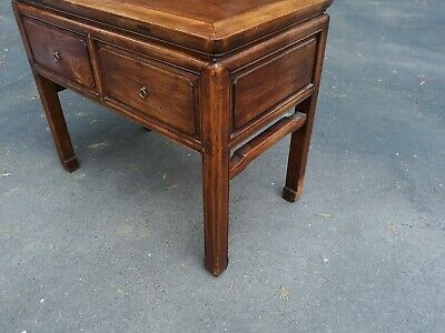 Outstanding Large Antique Chinese Hardwood Desk Table or Console 4