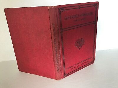 Gas and Oil Engines And Gas-Producers By Marks-Wyer 1908 Hit Miss Book 2