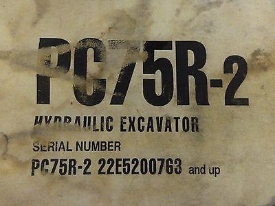 komatsu pc15r 8 hydraulic excavator workshop service repair manual download f21803 and up