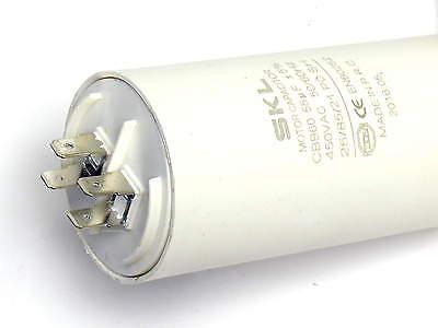 Motorkondensator Anlaufkondensator NEU MKP Kabel Kondensator 55uF 400//450V m