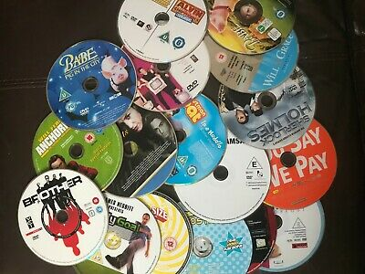 100 DVDs Mixed Titles Wholesale Joblot (Discs Only) 2
