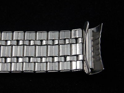 Best Quality Vintage Watch Band Bracelet Mens 18mm Stainles Expansion Deployment 5