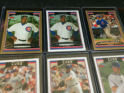 2006 Topps Lot of 27 Chicago Cubs: Maddux, Barrett, GOLD Serial, Rich Hill RC 4