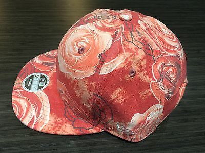 13b85d9e ... New Era Cap Hat Disney's Beauty & The Beast Ladies All Over Rose  Snapback Women 2