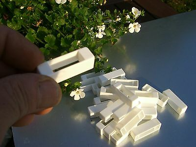 50 Narrow bee hive plastic frame ends / spacers