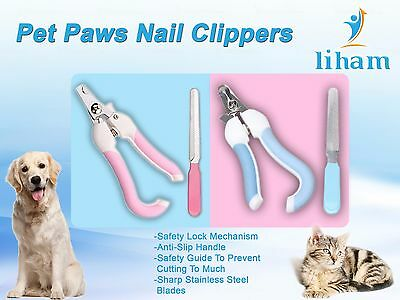 Pet Dog Cat Nail paw Claw Clippers scissors, For Small- medium- large animals 7