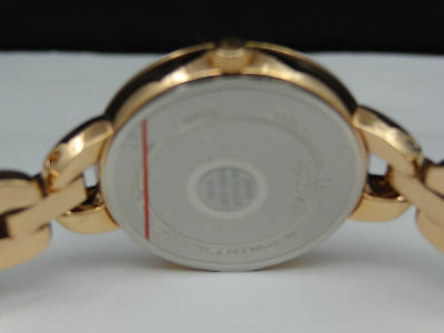 Bulova 98L207 Rose Gold Tone Crystal Mother-of-Pearl Dial Women's Watch 5