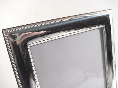 Cornici argento 925 bilaminato,x foto da 9x13 a 18x24,liscia con bordini,TOP 4