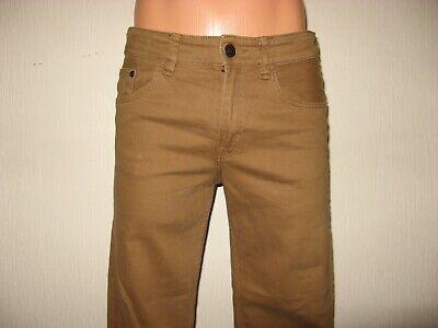 Worn Once Boys H & M Skinny Stretch Caramel Brown Skinny Leg Jeans Age 11-12-13 2